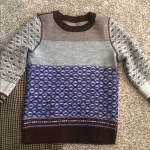 J. Crew Collection wool reversible sweater
